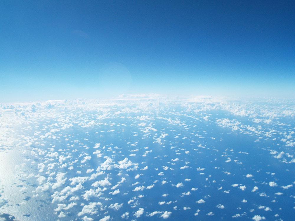 Psicología del color azul cielo