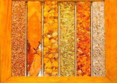 Psicología del color mandarina