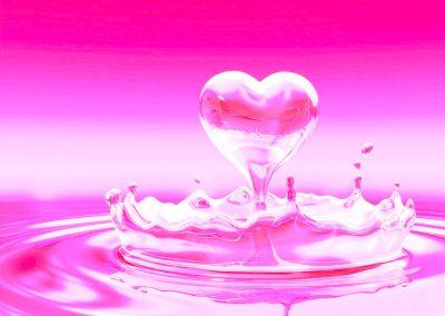 Psicología del color rosa claro