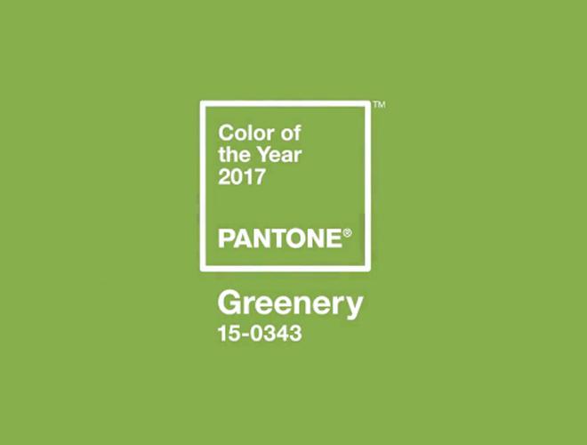 Greenery, el color de 2017 según Pantone