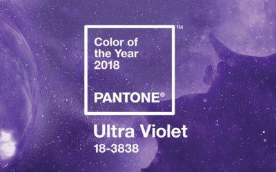 Psicología del color del 2018 según Pantone